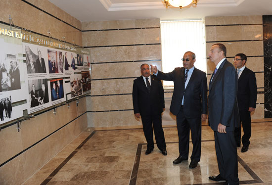 Azərbaycan Prezidenti Şamaxı Astrofizika Rəsədxanasında aparılan yenidənqurma işləri ilə tanış olub (FOTO)