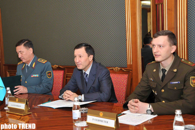Astana discusses cooperation with U.S. (PHOTO)