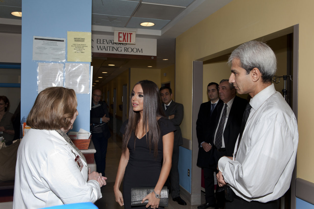 Vice-President of Heydar Aliyev Foundation to be awarded by Children`s Cancer & Blood Foundation in New York (PHOTO)