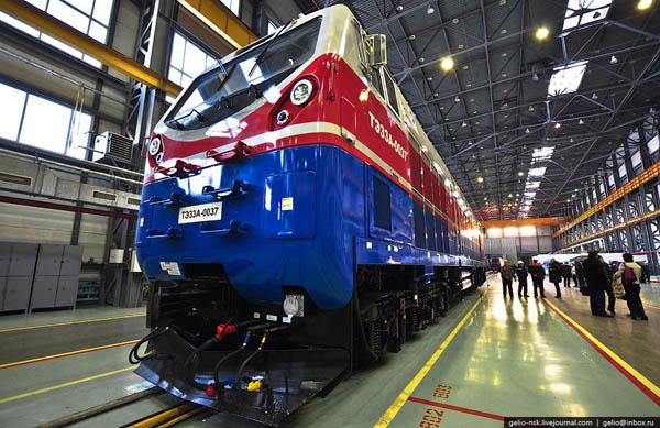 Казахстан впервые экспортирует электровозы и тепловозы
