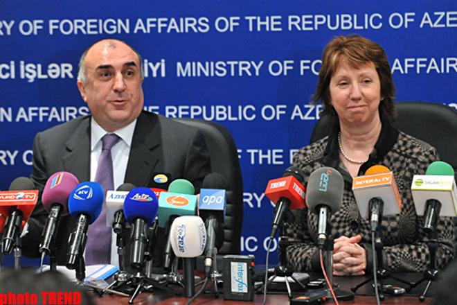 EU high representative: Azerbaijan-EU relationships must be templated to mutual interests (PHOTO)
