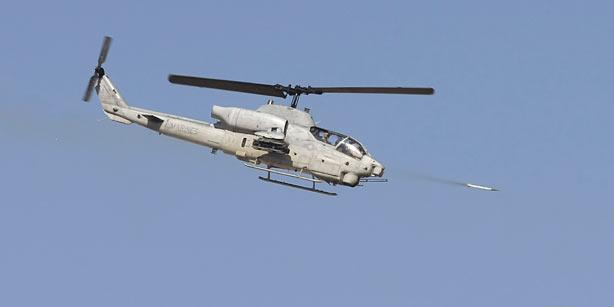 AH-1W Super Cobra Weapons Demonstration - YouTube