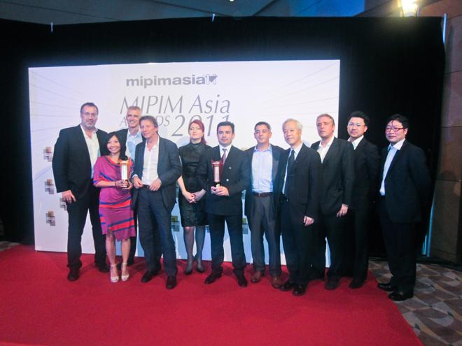 Baku White City Project wins MIPIM Asia Awards 2011 (PHOTO)