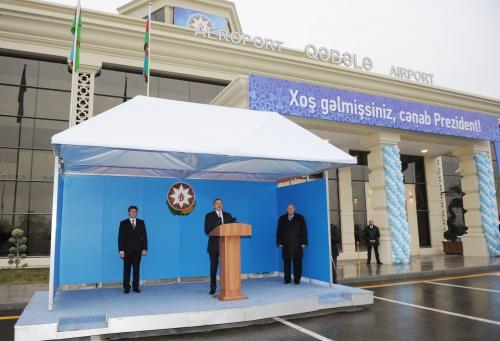 Gabala Int'l airport opened (PHOTO)