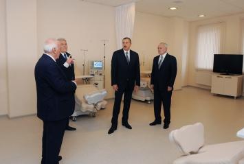President Ilham Aliyev inaugurates Central Hospital of Shaki region (PHOTO)