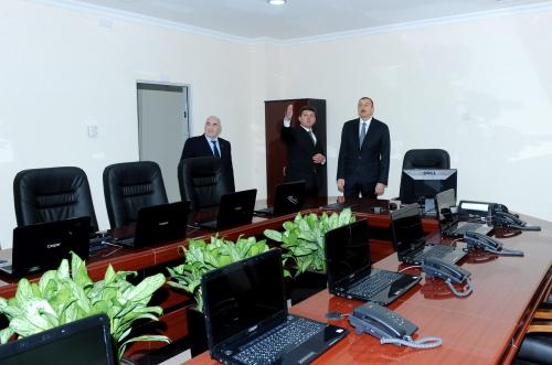 Azerbaijani president inaugurates new administrative building of Gabala local authorities (PHOTO)