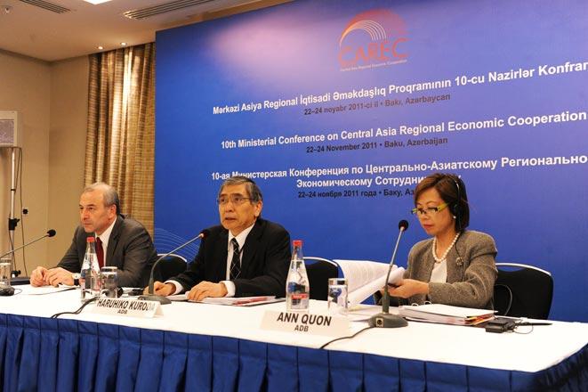 $50 billion CAREC-2020 Strategy approved in Baku (PHOTO)