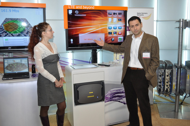 Azerfon and Nokia Siemens Network present the state-of-art technology at BakuTel-2011 (PHOTO)