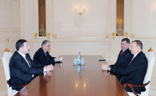 Azerbaijani president receives Tbilisi Mayor