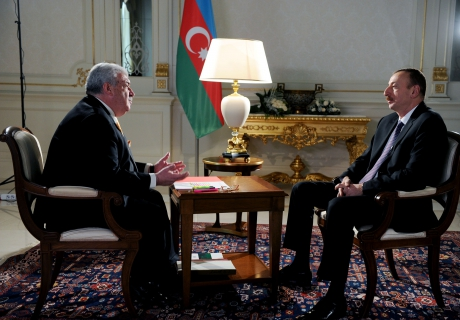 "Azerbaijani President gives interview to author of ""Formula of power"" program"