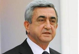 Serj Sarkisyan: Dağlıq Qarabağ münaqişəsi yalnız danışıqlar və kompromisslə ...