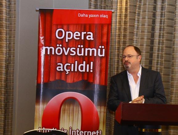 """""""Bakcell"""" və """"Opera Software"""" """"Opera Mini""""nin birgə variantını təqdim edirlər (FOTO)"""