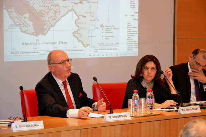 Inadmissibility of Azerbaijani territories' occupation by Armenia once again stressed in French Senate (PHOTO)