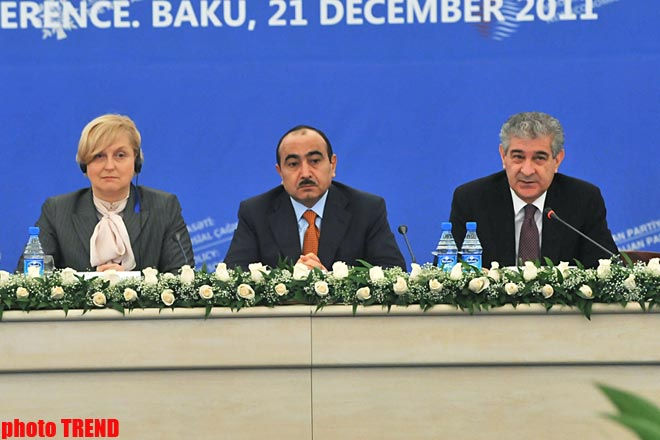 Modernization policy discussed at int'l conference in Baku (PHOTO)