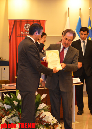TURKSOY awards Trend for its contribution to Turkic world development (PHOTO)