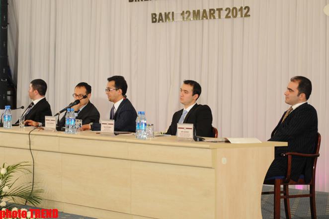 Учредительный съезд Всемирного объединения азербайджанской молодежи принял декларацию (ФОТО) (версия 2)