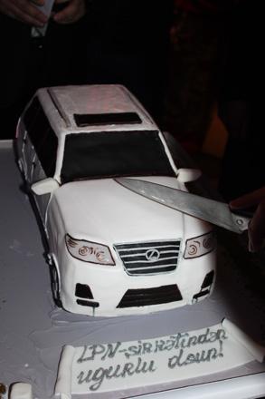 Открытие Автомобильного Салона Lexus Bakı (ФОТО)
