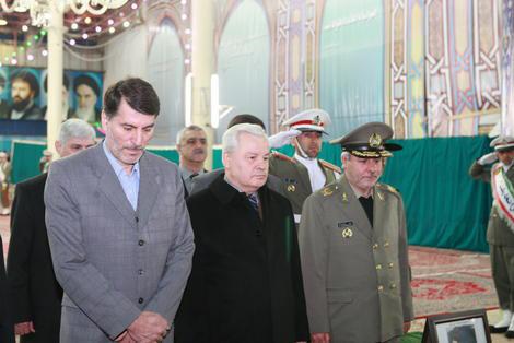 Начался визит министра обороны Азербайджана в Иран (ФОТО)