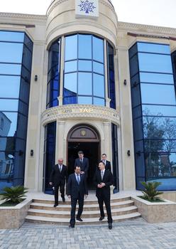 Президент Азербайджана принял участие в открытии административного здания Астаринской райорганизации правящей партии (ФОТО)