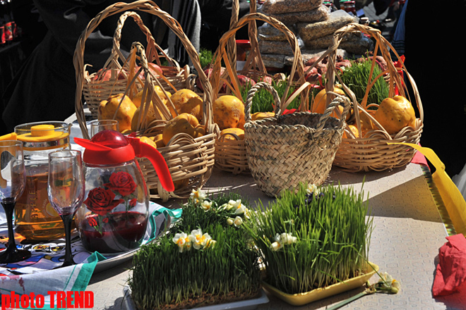 В Азербайджане отмечают Новруз байрамы (ФОТО)