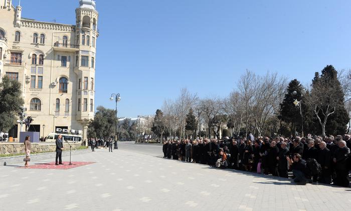 Президент Ильхам Алиев: Уважение к национальным традициям сделало нас еще сильнее (ФОТО)