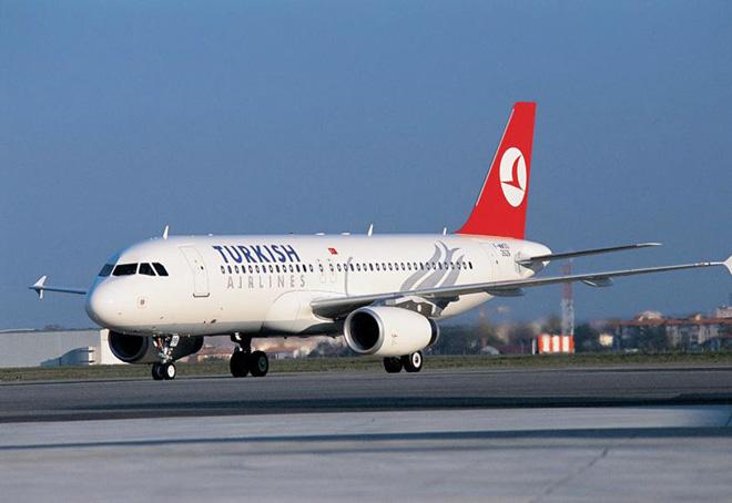 Turkish Airlines-in təyyarə Əlcəzairdə təcili eniş enib