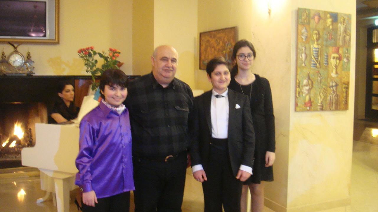 Юные вокалисты из Баку покорили прибалтийский Олимп (фото)