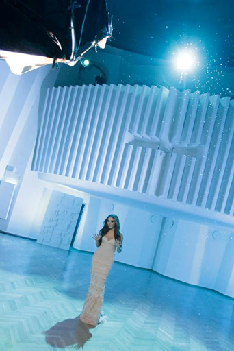 "Фоторепортаж со съемок клипа Сабины Бабаевой  ""When the music dies"""