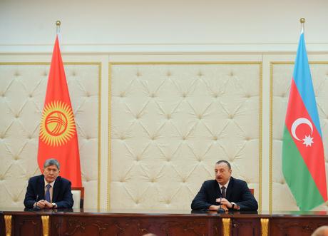 Президент Ильхам Алиев: Азербайджан и Кыргызстан начинают новый этап развития отношений (ФОТО)