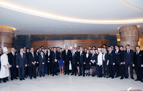 Prezident İlham Əliyev: Azərbaycan dünyanın turizm xəritəsində də öz yerini tapacaq (FOTO)