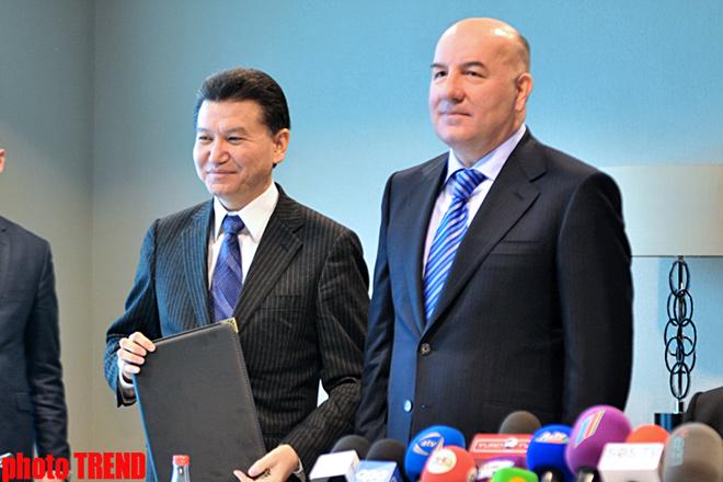 FİDE Azərbaycan Şahmat Federasiyası ilə qarşılıqlı əməkdaşlığa dair sənəd imzalayıb (FOTO)