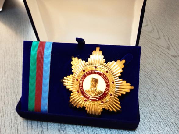 Землячество казаков наградило Президента Азербайджана высшим орденом (ФОТО)