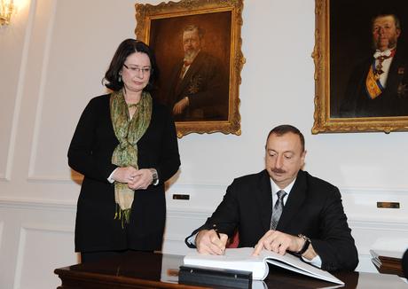 İlham Əliyev Çexiya Parlamenti Deputatlar Palatasının sədri ilə görüşüb (FOTO)