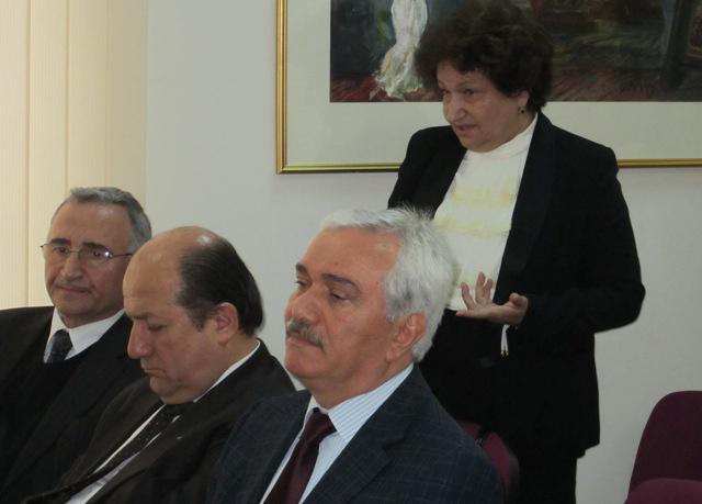 Azərbaycanda biznes ictimaiyyəti ilə Vergilər Məcəlləsinə dəyişikliklər müzakirə olunur (FOTO)