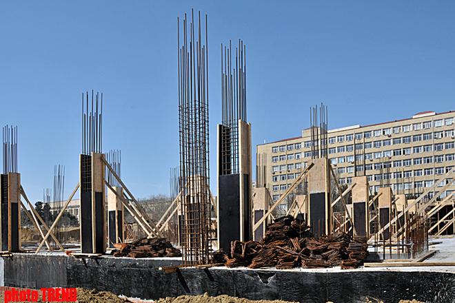 AMEA-nın Mərkəzi Elmi Kitabxanasının görüntüləri (FOTO)