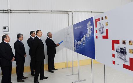 Qazaxda konserv zavodunun açılışı olub (FOTO)
