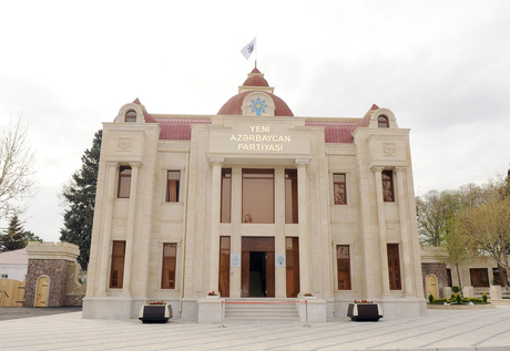Yeni Azərbaycan Partiyası Ağstafa rayon təşkilatının yeni inzibati binasının açılışı olub (FOTO)