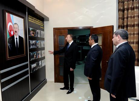 Ağstafada Gənclər Mərkəzinin açılışı olub (FOTO)