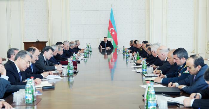 Prezident İlham Əliyev: Azərbaycan qarşıdurma arenasına çevrilməyəcək (FOTO)