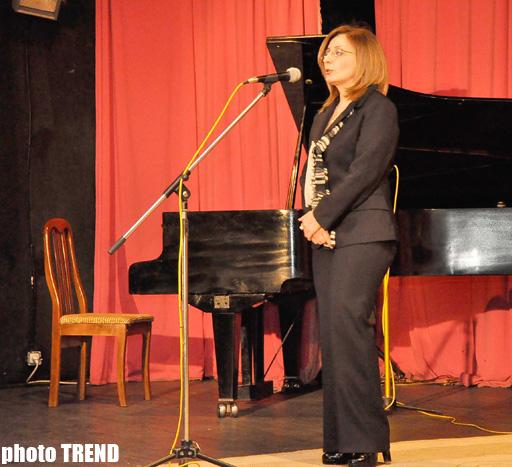 Bakıda istedadlı pedaqoq və  peşəkar pianoçu Aytəkin Həsənovanın xatirə gecəsi keçirilib (FOTO)