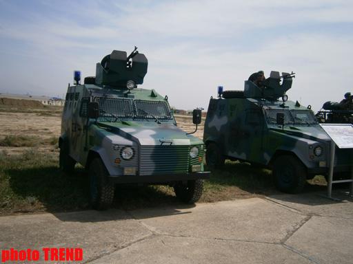 Dövlət Sərhəd Xidmətinin yeni hərbi texnikasına baxış keçirilib (ƏLAVƏ OLUNUB) (FOTO)