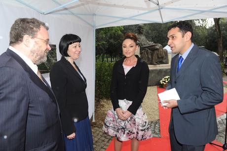 Mehriban Əliyeva: Romada Nizami Gəncəvinin abidəsinin açılması İtaliyada onun yaradıcılığına marağı artıracaq (FOTO)