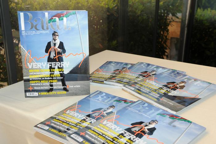 """Azərbaycanın birinci xanımı Romada keçirilən """"Baku"""" jurnalının təqdimat mərasimində iştirak edib (FOTO)"""
