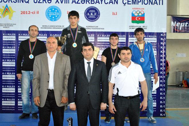 """""""Qızıl Əlcək"""" idman klubu Azərbaycan çempionu olub (FOTO)"""