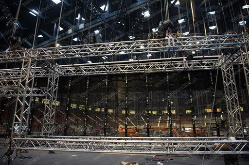 """""""Bakı Kristal Zalı""""nda Eurovision hazırlıqlarından ilk görüntülər (FOTO)"""