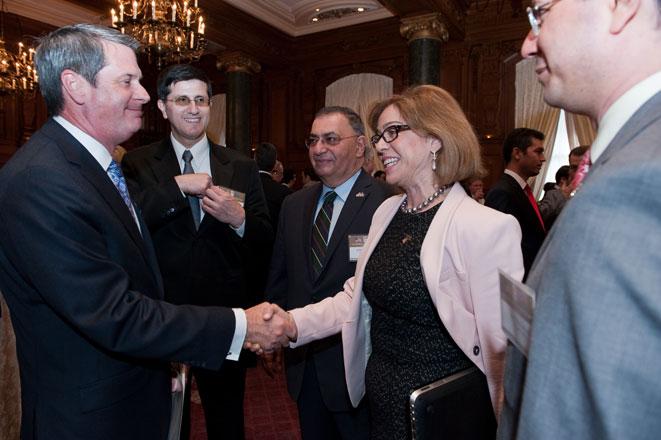 Azərbaycan nümayəndə heyəti ABŞ-ın Luiziana ştatının qubernatoru ilə görüşüb (FOTO)