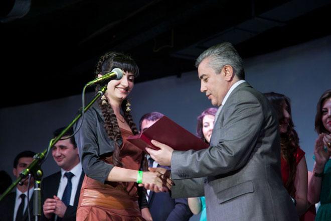 Ukraynada azərbaycanlı gənclərin iki illik fəaliyyətlərinə qiymət verilib (FOTO)