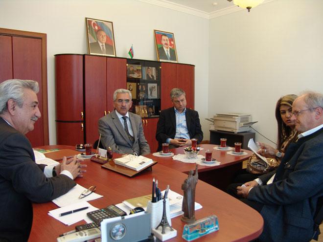 Beynəlxalq İdman Dırmanma Federasiyasının vitse-prezidenti Bakıda səfərdədir (FOTO)
