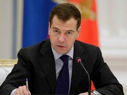 Medvedev: Öz pendirimiz də pis deyil