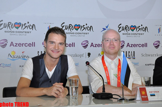 Ott Lepland: My Eurovision 2012 finals performance to affect my career (PHOTO)
